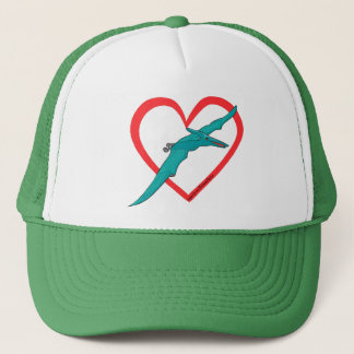 Pterosaur Heart Trucker Hat