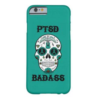 PTSD Badass sugar skull Barely There iPhone 6 Case