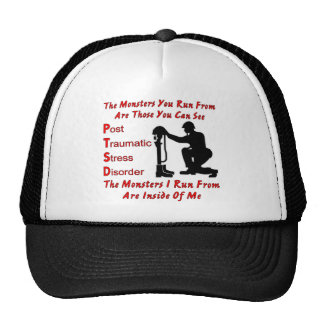 PTSD The Monsters I Run From Are Inside of Me Cap