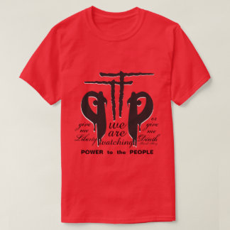 PTTP < P.Henry < Give Me Liberty On Red T-Shirt