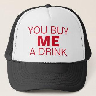"""PUA Flirting Trucker Hat: """"You buy ME a drink"""" Trucker Hat"""