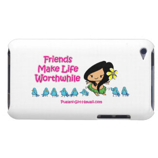 Pualani Girl Hawaii - iPod Twitter Case-Mate iPod Touch Case