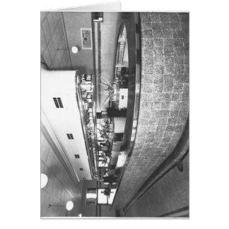 Public bar in the Bridge Hotel Card