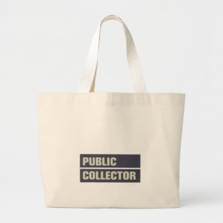 Public Collector Jumbo Tote Bag
