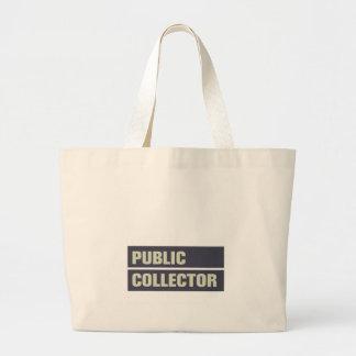 Public Collector Jumbo Tote Bag