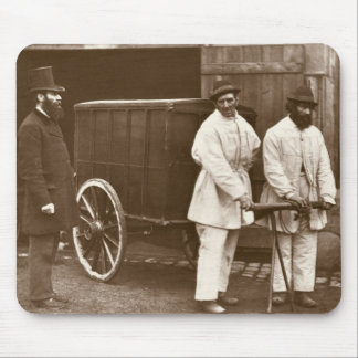 Public Disinfectors, from 'Street Life in London', Mouse Pad