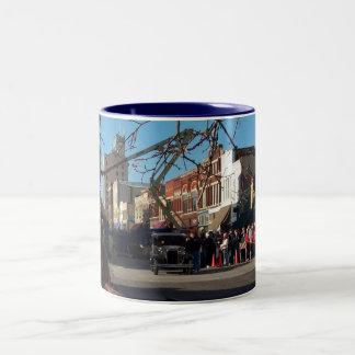 Public Enemies Chicago Shot Two-Tone Coffee Mug