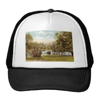 Public Garden, Boston 1909 Vintage Trucker Hats