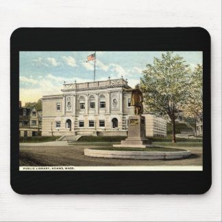 Public Library, Adams, Mass. 1917 Mouse Pad