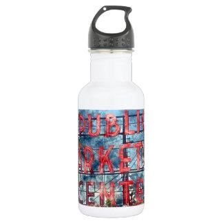 Public Market Center in Seattle Washington 532 Ml Water Bottle
