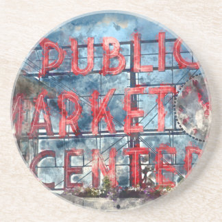 Public Market Center in Seattle Washington Coaster