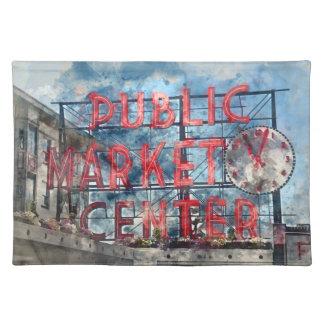Public Market Center in Seattle Washington Placemat