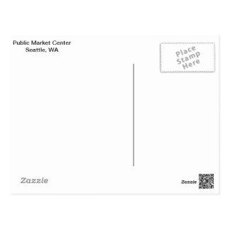 Public Market Center, Seattle postcard