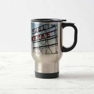 Public Market Stainless Steel Travel Mug