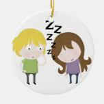 Public Narcolepsy Christmas Ornament