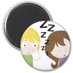 Public Narcolepsy Fridge Magnet