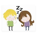 Public Narcolepsy Postcard