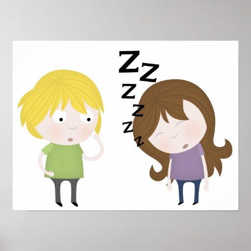 Public Narcolepsy Poster
