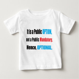 Public Option Baby T-Shirt