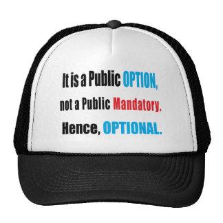 Public Option Hats