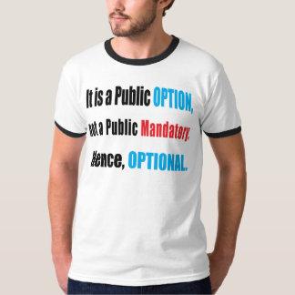 Public Option T Shirt
