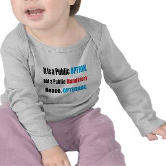 Public Option T Shirts
