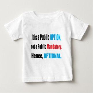Public Option Tshirts