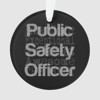 Public Safety Officer Extraordinaire Ornament
