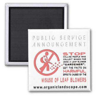 Public Service Annoucement #1 Square Magnet