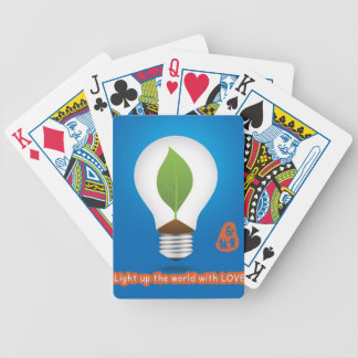 public service charity light up love playing cards