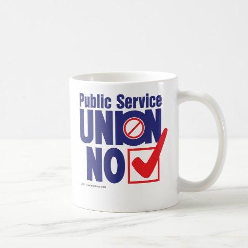 Public Service Union NO Mugs