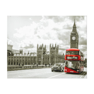 Public Transportation Canvas Print