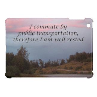 public transportation iPad mini cover