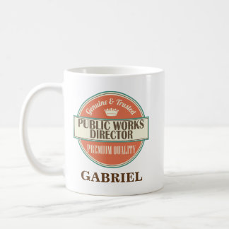 Public Works Director Personalized Mug Gift