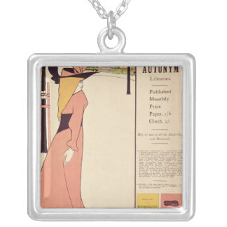 Publicity poster for 'The Yellow Book' Silver Plated Necklace