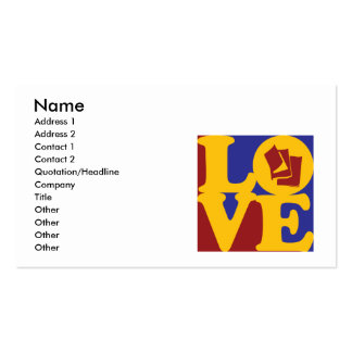 Publishing Love Business Cards