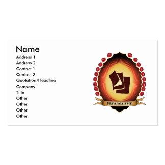 Publishing Mandorla Business Card Templates