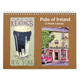 Pubs of Ireland Calendar