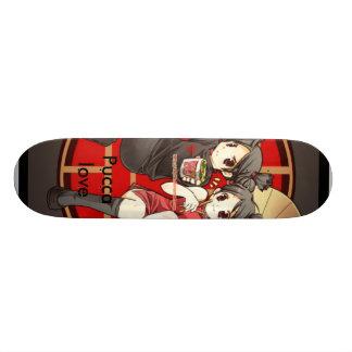 Pucca love custom skate board