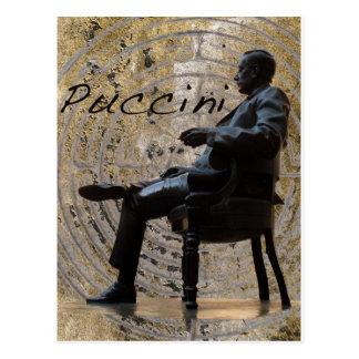 Puccini_Statue_Lucca1 Postcard