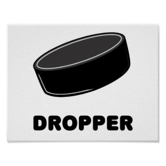 Puck Dropper Poster
