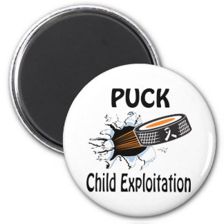 Puck The Causes Child Exploitation Magnet