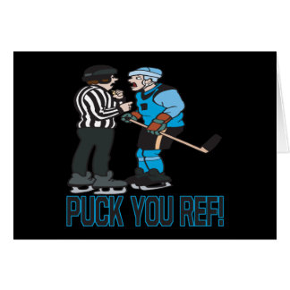 Puck You Ref Card