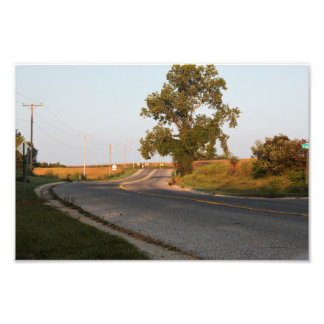 Pucker street, Niles, MI Photo Print