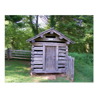 Puckett Cabin Shed Postcard