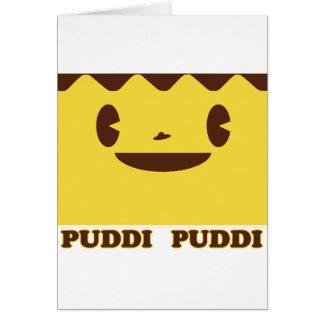 PUDDI Face PUDDI Greeting Card