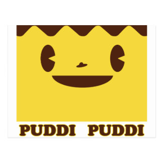 PUDDI Face PUDDI Postcard