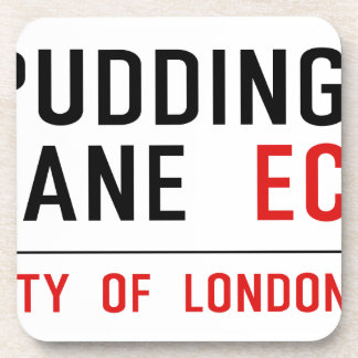 Pudding Lane Drink Coasters
