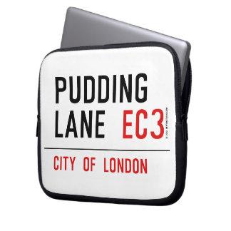 Pudding Lane Laptop Computer Sleeve