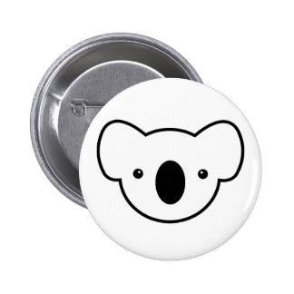 Pudding the Koala 6 Cm Round Badge